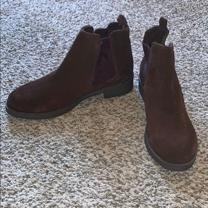 BNWT Brown Booties